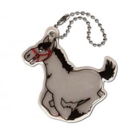 Koń - zawieszka odblaskowa miękka