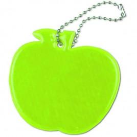 Jabłko żółte - zawieszka odblaskowa miękka