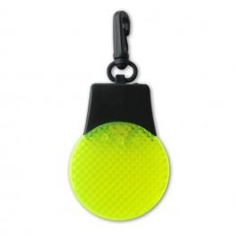 Пульсирующий брелок LED (жёлтый)