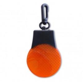 Brelok pulsacyjny LED - pomarańczowy