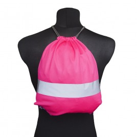 Worko-plecak odblaskowy dla dzieci - różowy