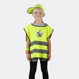 Kamizelka odblaskowa dla dzieci K203 KID Panda