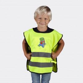 Kamizelka odblaskowa dla dzieci K203 KID Żółw