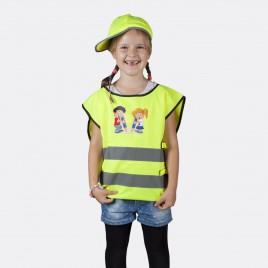 Kamizelka odblaskowa dla dzieci K203 KID Chłopiec i dziewczynka