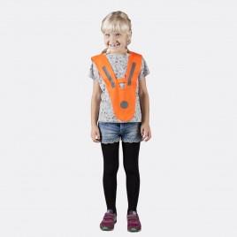 Светоотражающая накидка для детей и молодёжи (оранжевая)