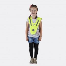 Szelka odblaskowa dla dzieci i młodzieży - kolor żółty - SZ-024
