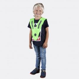 Szelka odblaskowa dla dzieci i młodzieży - kolor zielony - SZ-034