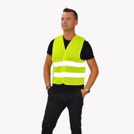 Mesh Adult High Vis Vest YoYo-201/2P/Ż/S  - yellow