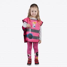 Kamizelka odblaskowa dla dzieci K203 KID Dziewczynka