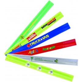 50 Stück-Set mit Farbige Aufdruck  - Reflektierendes Schnappband