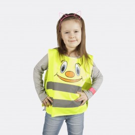 Reflektierende Westen für Kinder YoYo-K203 Lächeln