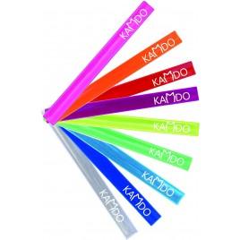 100 Stück-Set mit Farbige Aufdruck - Reflektierendes Schnappband