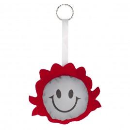 Reflective key hanger SMILING GIRL
