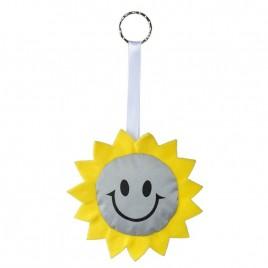 Reflective key hanger SUN