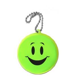 Kółko uśmiech żółty- zawieszka miękka