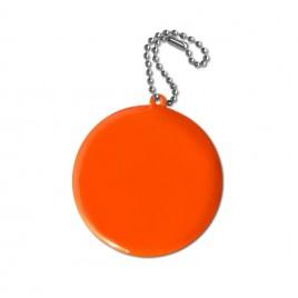 Zawieszka odblaskowa miękka- kółko pomarańczowe