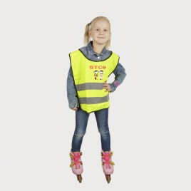 High Vis Vest for children YoYo-K203 STOP-1