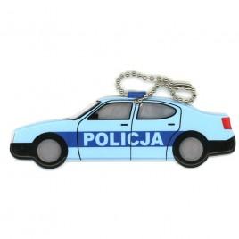 Policja - zawieszka odblaskowa miękka