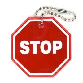 STOP - zawieszka odblaskowa miękka