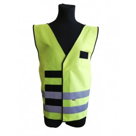 Warning vest used in the headquarters at the tactical and strategic level