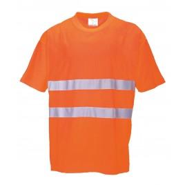 T-shirt Cotton Comfort CE S172 pomarańczowy