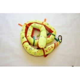 Odblaskowy wąż spacerowy 3,5 M