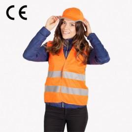 Kamizelka odblaskowa dla dorosłych YG801B - pomarańczowa CE