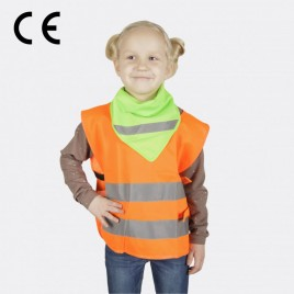 Chusta odblaskowa - kolor zielony - typ CH-034