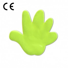 Hand - Reflexaufkleber