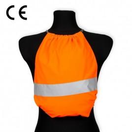 Worko-plecak odblaskowy dla dzieci - pomarańczowy - WP-007