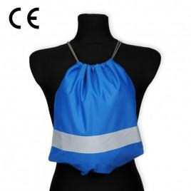 Worko-plecak odblaskowy dla dzieci - niebieski - WP-021