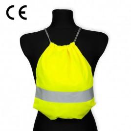 Worko-plecak odblaskowy dla dzieci - żółty - WP-024