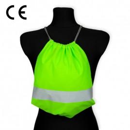 Worko-plecak odblaskowy dla dzieci - zielony - WP-034