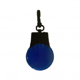 Brelok pulsacyjny LED - niebieski