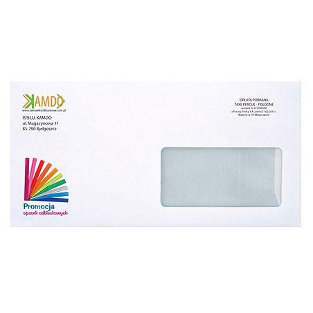 Envelopes with print