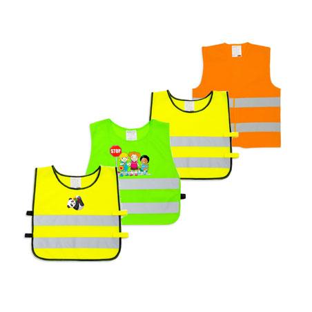 Светоотражающие детские жилеты